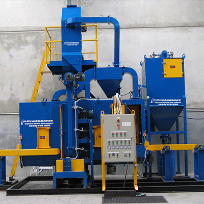 Airless Blasting Machines Deliver Efficiently & Profitability